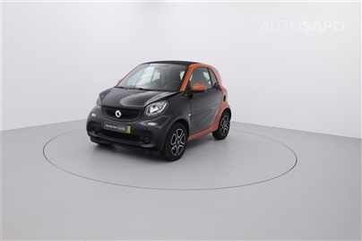 Smart Fortwo 1.0 Coupe Passion 90 Aut (90cv) (3p)