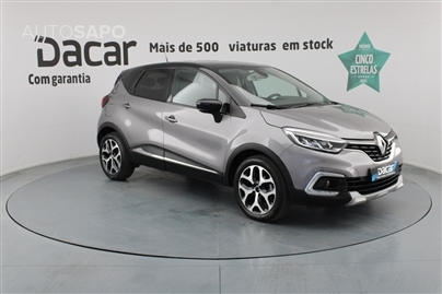 Renault Captur 1.5 DCI EXCLUSIVE EDC
