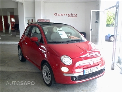 Fiat 500C 1.2 New Louge (69 CV) 54000 KMs