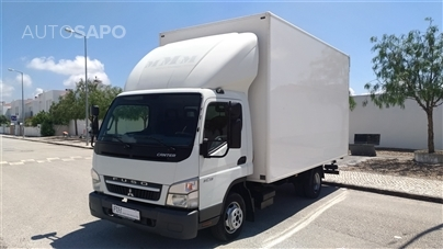 Mitsubishi Canter 3C13 FB83SE4SLEA1/4 Box Tail Lift (130cv) (2p)