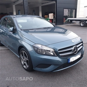 Mercedes-Benz Classe A 180 CDi BlueEfficiency Aut. (109cv) (5p)