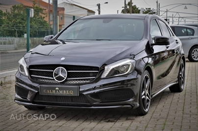 Mercedes-Benz Classe A 180 CDi BlueEfficiency AMG Line Aut. (109cv) (5p)