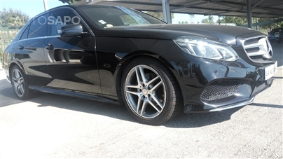 Mercedes-Benz Classe E 300 blue tech hibrid AMG ORIGINAL