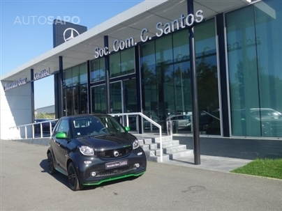 Smart Fortwo Electric Drive Kit Brabus Cabrio