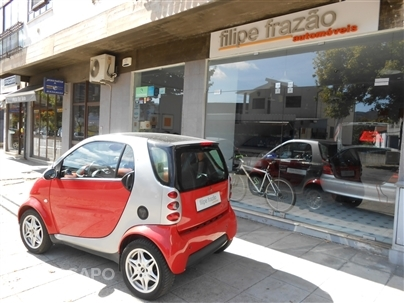 Smart City Coupe Passion 0.8 CDI 41Cv 1Dono AC Tecto Panorâmico Interior Red Impecável 2002/10