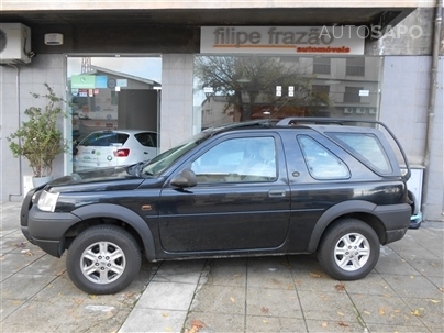 Land Rover Freelander 2.0 TD4-SE 112Cv Cabrio Hard-Top 3P 1Dono Impecável 2001/07